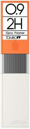 """Грифели для механических карандашей Tombow """"Mono"""", 0,9 мм, 2H, 12 штук"""