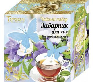 Чайный набор Tipson чай и силиконовый заварник 85 г