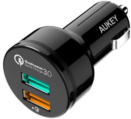 Автомобильная зарядка Aukey CC-T7 (Black)