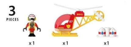Вертолет Brio Спасательный 33797