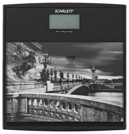 Весы напольные Scarlett SC-BS33E063 Рисунок, черный