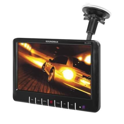 Телевизор автомобильный Soundmax SM-LCD707 Black