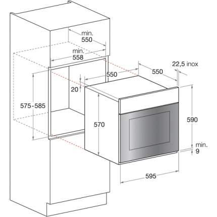 Встраиваемый электрический духовой шкаф Hotpoint-Ariston 7OFK 637J C (K) RU/HA Black