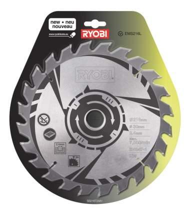 Пильный диск по дереву  Ryobi SB216T24A1 TCT BLDE 216MM 24T EMEA