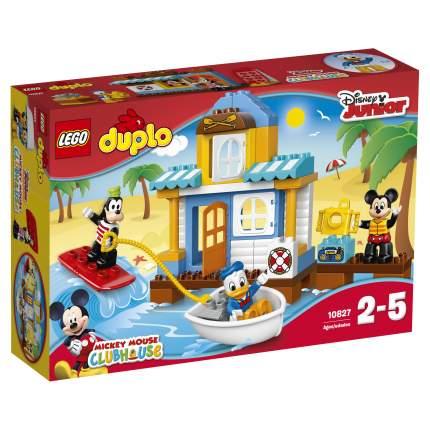 Конструктор LEGO Duplo Disney Домик на пляже (10827)
