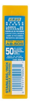 Сменное лезвие для строительного ножа OLFA OL-AB-50S
