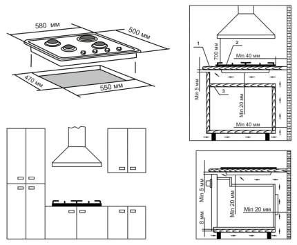 Встраиваемая варочная панель газовая Electronicsdeluxe 5840.00ГМВ-001 ЧР Beige
