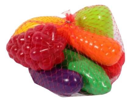 Набор продуктов игрушечный Орион Фрукты и овощи 8 предметов
