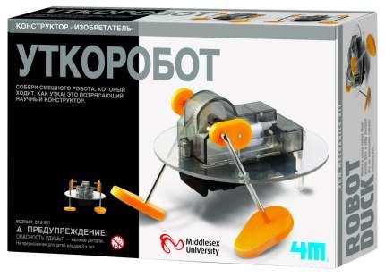 Конструктор пластиковый 4M Уткоробот 00-03907