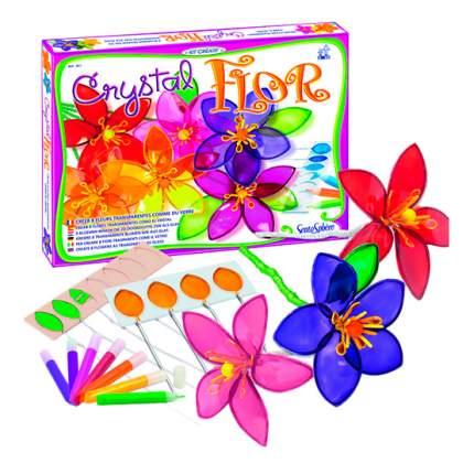 Мозаика SentoSphere Кристалл. Витражные цветы