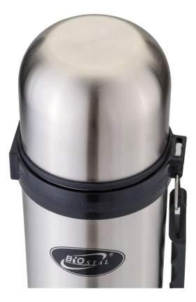 Термос Biostal Классическая серия 1,8 л серебристый/черный