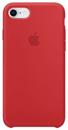 Кейс для Apple iPhone iPhone 8/7 Silicone Case Red (MQGP2ZM/A)