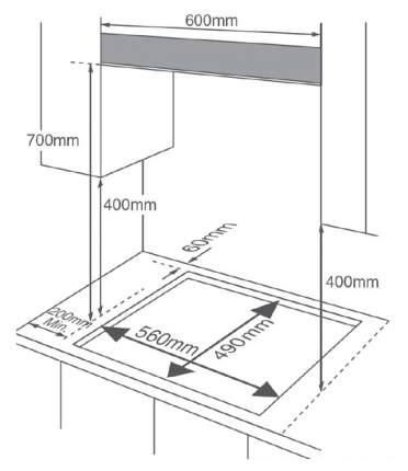 Встраиваемая варочная панель газовая Midea MG696TX Silver