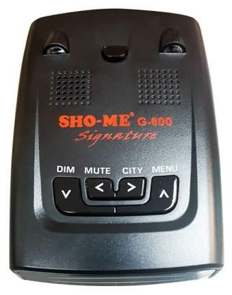 Радар-детектор SHO-ME G-800 Signature со встроенным GPS модулем