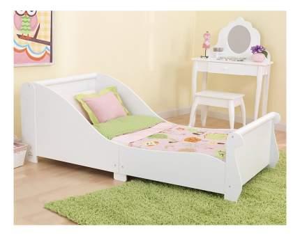 Кровать KidKraft Сани белая