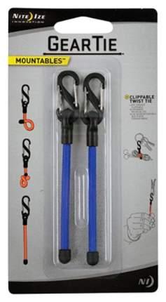Карабин с хомутом Nite Ize Gear Tie Clippable Twist Tie #3 GLZ-03-2R7 Blue