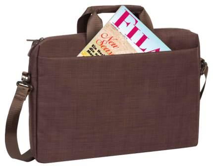 """Сумка для ноутбука 16"""" Rivacase 8335 коричневая"""