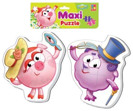Пазл мягкий Vladi Toys Baby puzzle Смешарики Нюша и Бараш