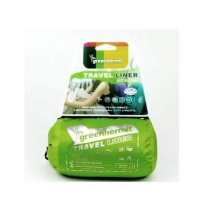 Вкладыш в спальник Greenhermit Ultralight Travel Liner серый 80 x 200 см