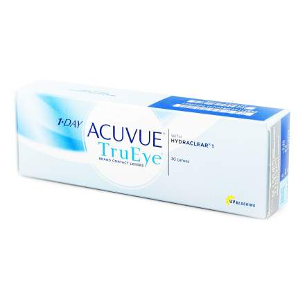 Контактные линзы 1-Day Acuvue TruEye 30 линз -3,25
