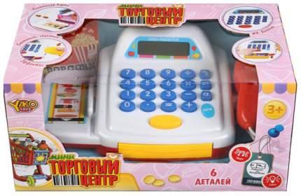 Касса игрушечная YAKO Кассовый аппарат на батарейках