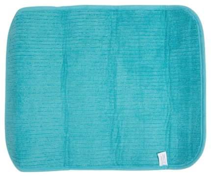 Коврик для сушки посуды Рыжий кот Mdm-01-L Белый, зеленый, голубой, синий