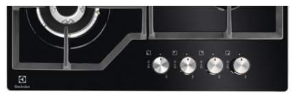 Встраиваемая варочная панель газовая Electrolux GPE363YK Black