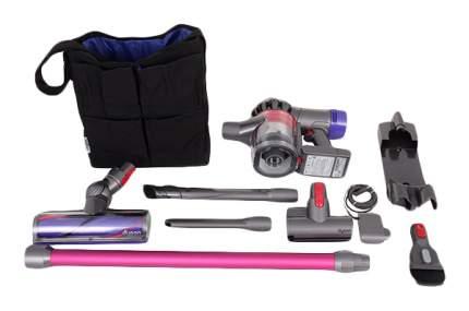Вертикальный пылесос Dyson  V7 Motorhead Pink/Grey