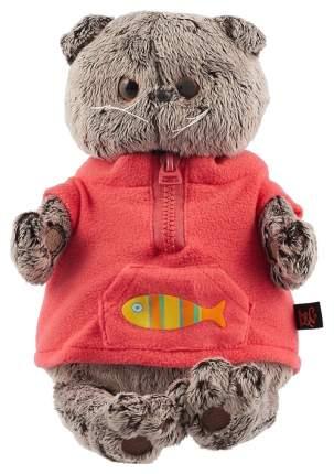 Мягкая игрушка BUDI BASA Басик в красном флисовом жилете, 30 см