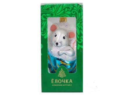 Елочная игрушка No Name 5 см 1 шт С 960-мышь-бирюза