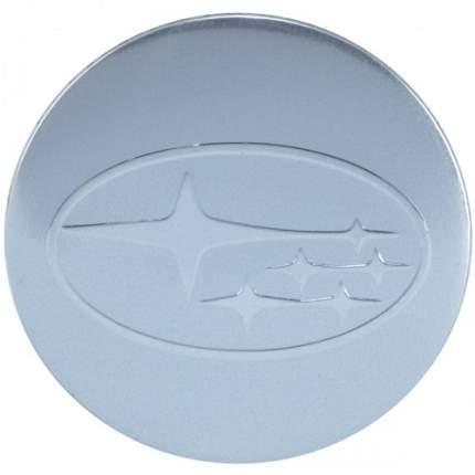 Наклейки на диски литые с логотипом автомобиля Субару 12050008 D-56 мм серебристые
