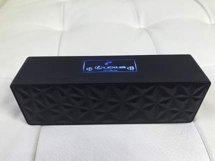 Беспроводной динамик Lexus NX Bluetooth Loudspeaker LMNX00002L Black