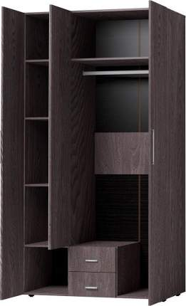 Платяной шкаф Hoff Канкун 80328812 120х230х57,9, ясень анкор тёмный