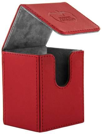 Коробочка Ultimate Guard XenoSkin на 100 карт, красная
