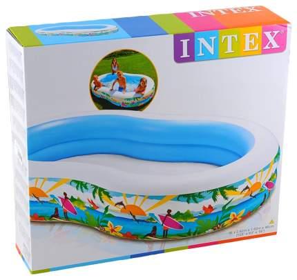 Детский Бассейн Intex Райская Лагуна 262Х160Х46 56490