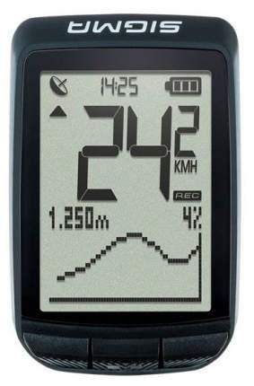 Велокомпьютер Sigma Pure GPS черный