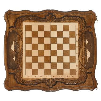 Шахматы и Нарды резные Haleyan c Араратом 40