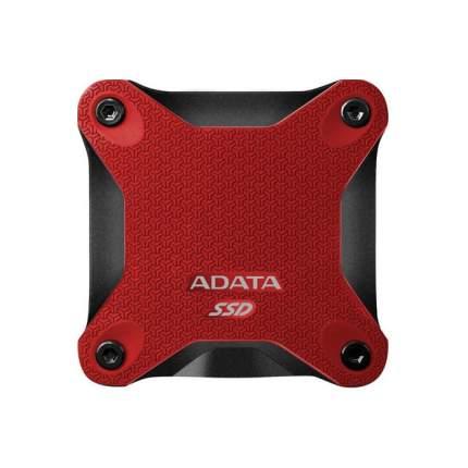 Внешний SSD накопитель ADATA SD600Q 480GB Red (ASD600Q-480GU31-CRD)