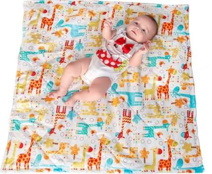 Конверт-одеяло SlingMe Жирафы мультиколор