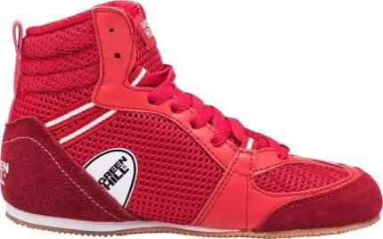Боксерки Green Hill PS006, красные, 38