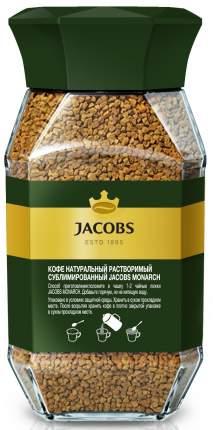 Кофе Jacobs Monarch растворимый 95 г