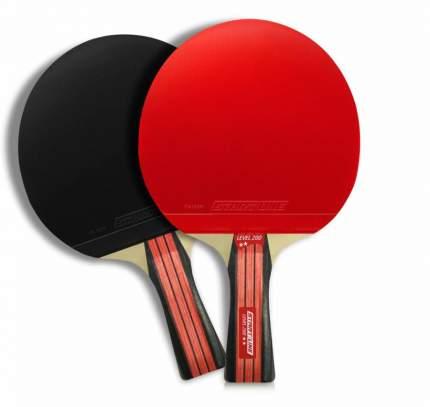 Ракетка для настольного тенниса Start Line 12305 Level 200, черно-красная