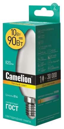 Лампочка Camelion LED10-C35/830/E14