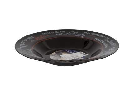 Тарелка Luminarc Friends Time black 28,5 см