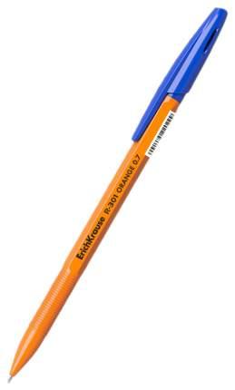 Ручка шариковая ErichKrause R-301 ORANGE 0.7 Stick синяя