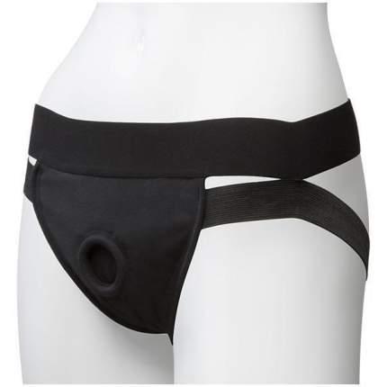 Пояс для страпона Doc Johnson Vac-U-Lock Panty Harness with Plug Dual Strap L/XL