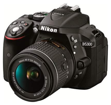 Фотоаппарат цифровой зеркальный Nikon D5300 Kit 18-55 AF-P Black