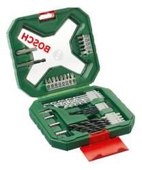 Наборы бит и сверл для дрелей, шуруповертов Bosch X-line 34 2607010608