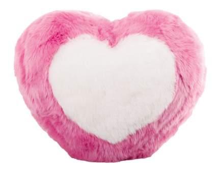Мягкая игрушка Gulliver Подушка-сердечко с белым сердцем, 25 см