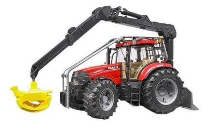 Трактор Bruder Case CVX 230 с захватом для бревен